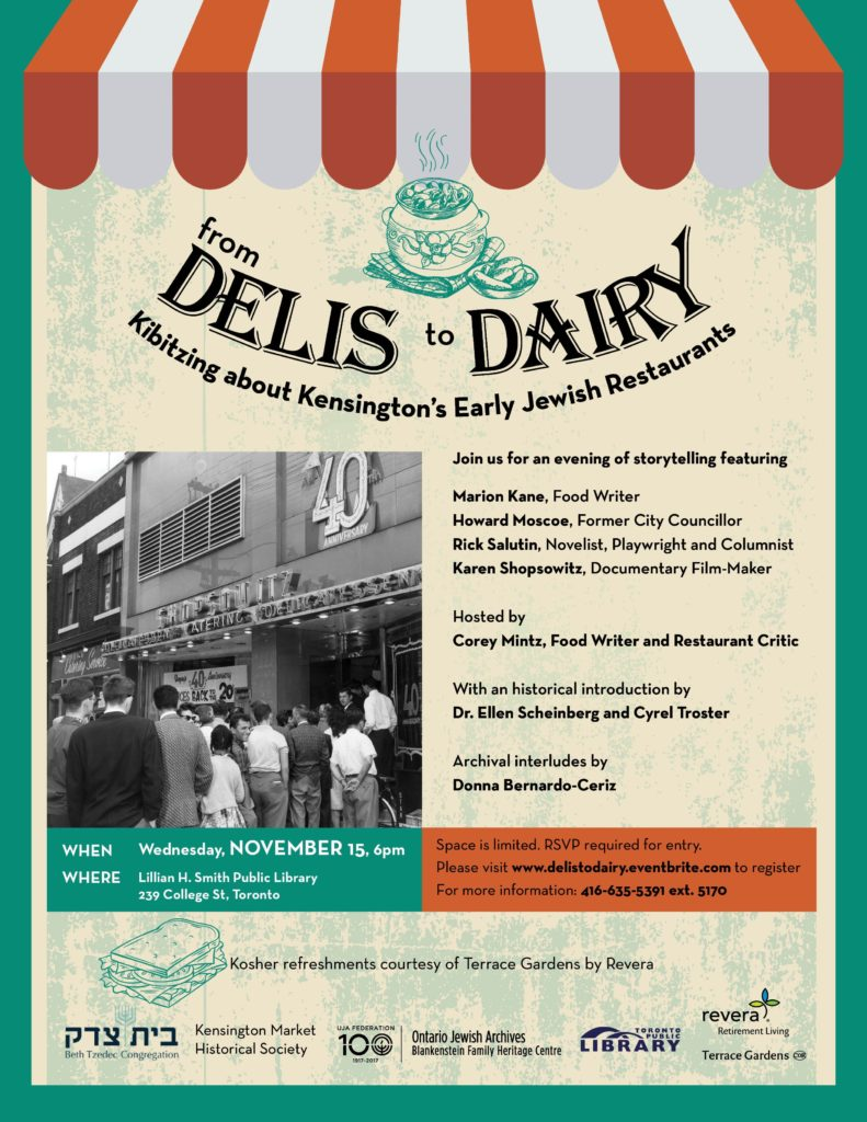 From Delis to Dairy flyer